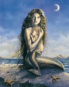 Seres fantasticos Sirena10
