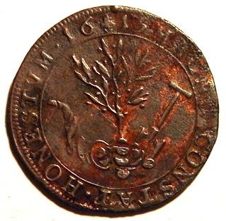 Jetón de los Archiduques Alberto e Isabel. 1615. Bruselas. Buen gobierno de los Archiduques 62cb_110