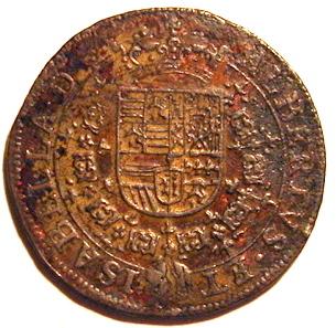 Jetón de los Archiduques Alberto e Isabel. 1615. Bruselas. Buen gobierno de los Archiduques 63d5_110