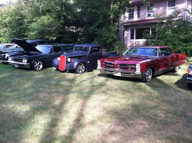my car hoarder friend has a car show at his house once a year P2310