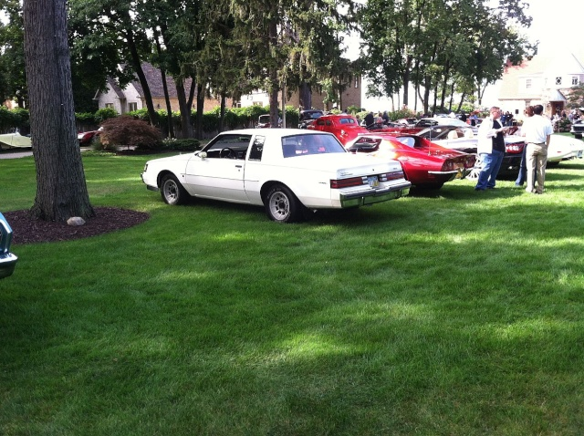 my car hoarder friend has a car show at his house once a year P2410