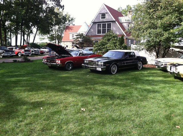 my car hoarder friend has a car show at his house once a year P3110