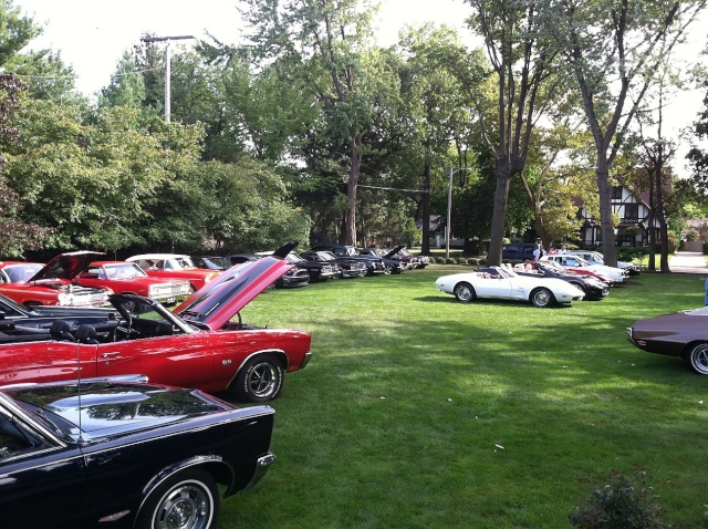 my car hoarder friend has a car show at his house once a year P3410