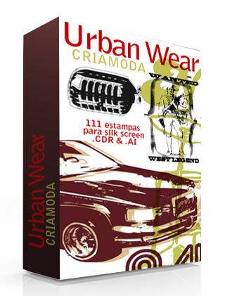[ VETOR ] Urban Wear - CriaModa - 111 Estampas.AI&CDR [ 104 MB ] Urban-10