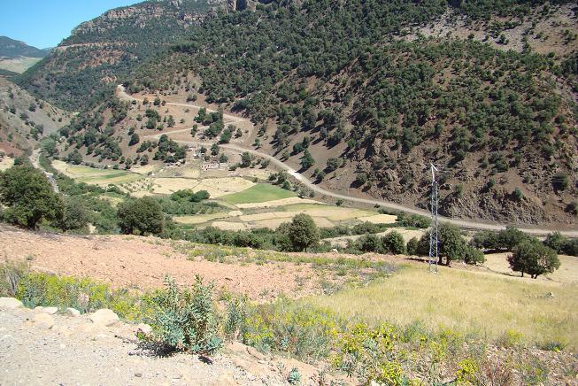 Route Ar-Racidia N13/N12 Agdz-Tazenakht R108-N10 Agadir A_dsc077