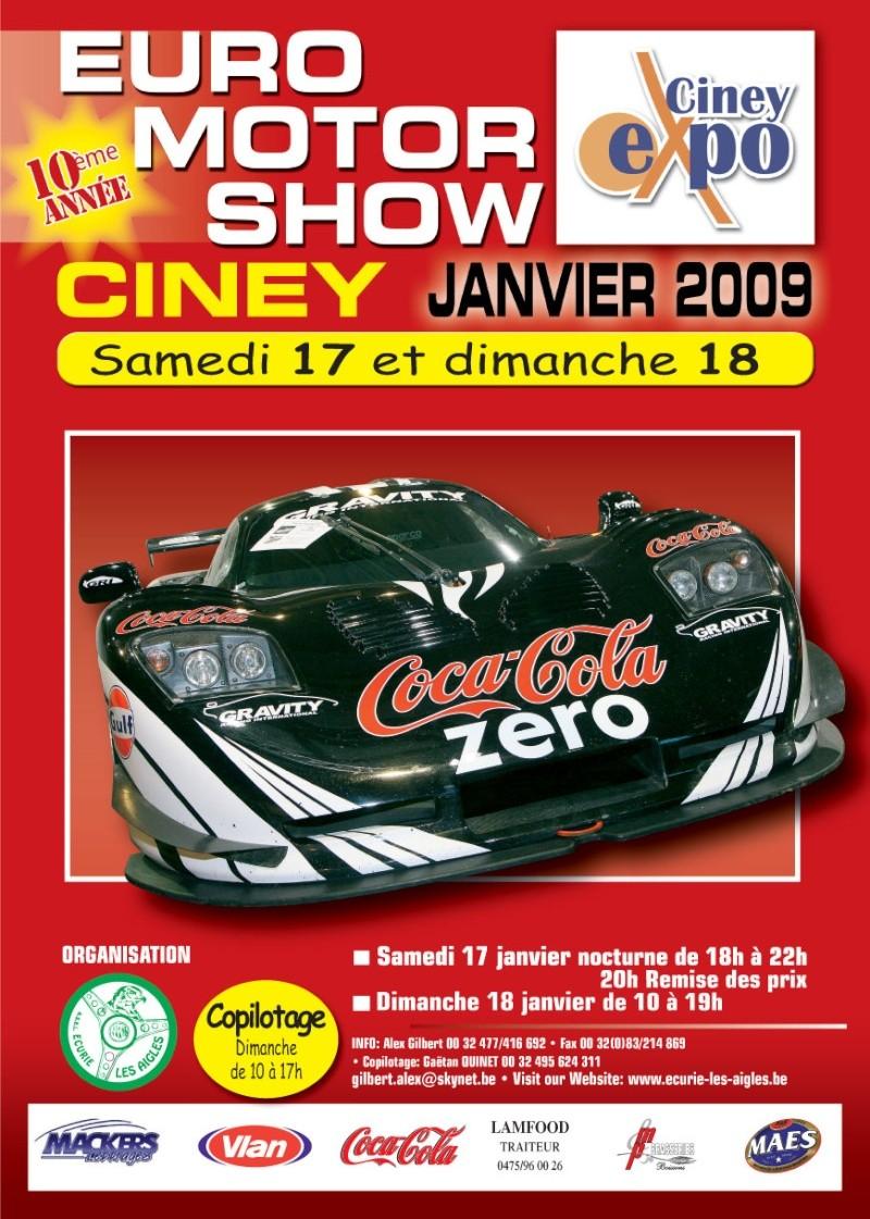 [Salon] 10 ème EURO MOTOR SHOW CINEY 17 & 18 janvier 2009 Euro2010