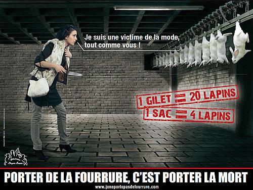 STOP A LA FOURRURE Visu310