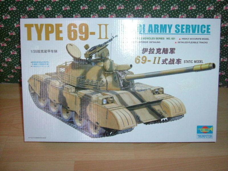 Type 69 II - Trumpeter 1/35 Boite16