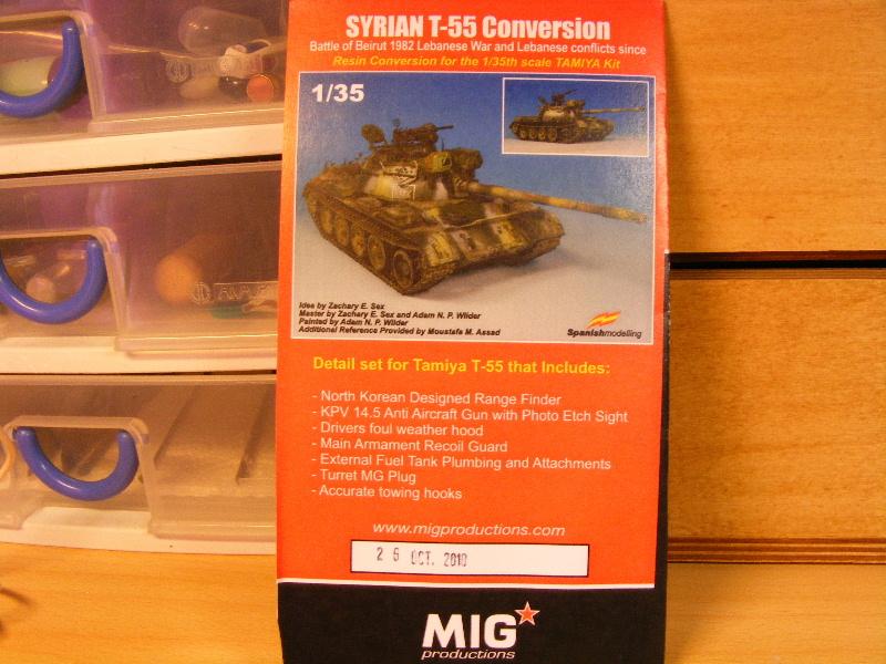 T55 Syrien et démineur KMT 5 - Page 2 Notice11