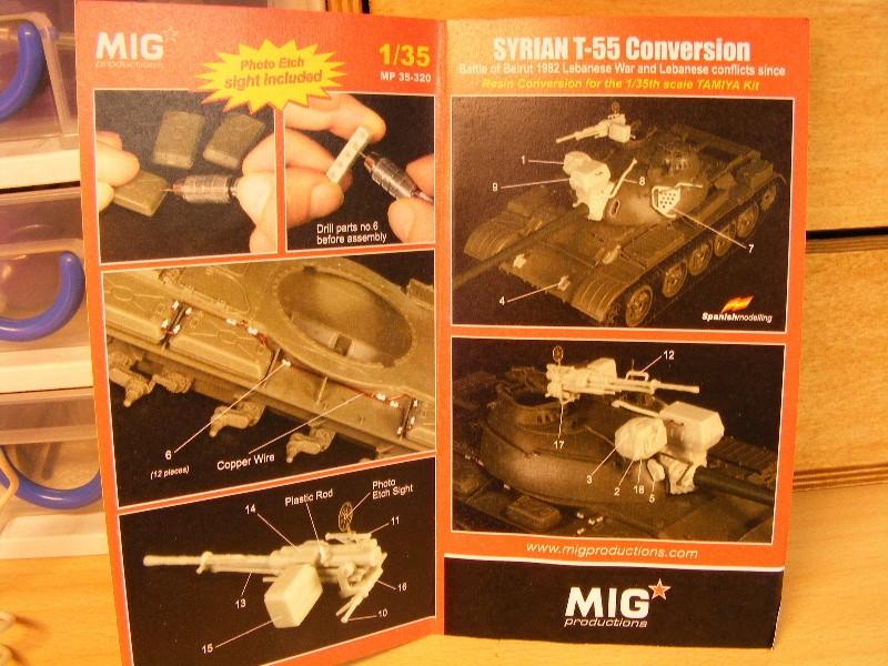 T55 Syrien et démineur KMT 5 - Page 2 Notice12