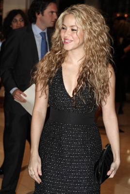 Shakira arrives at the annual Ibero-American summit in San Salvador - October 30 64513