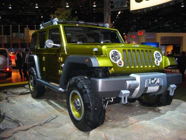 JeeP-история продолжается! Часть 2 - концепты. Jeepre10