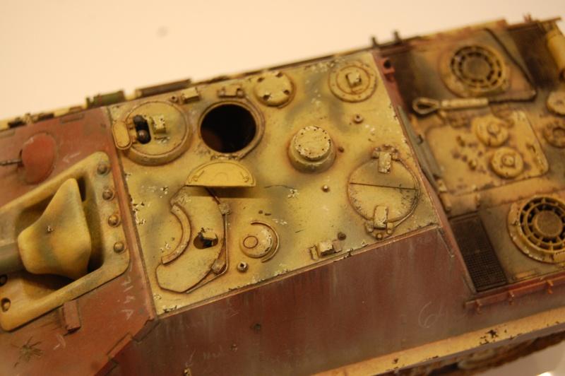 jagdpanther - DIO Jagdpanther late - T-34/85 - DE RETOUR !! micropeinture et patine - Page 14 Dioram16