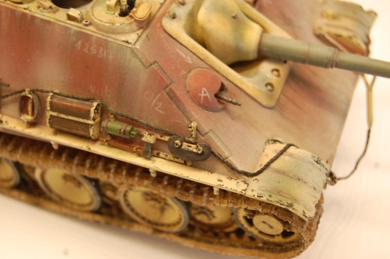 jagdpanther - DIO Jagdpanther late - T-34/85 - DE RETOUR !! micropeinture et patine - Page 14 Dioram18