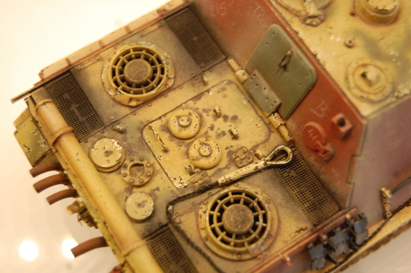 jagdpanther - DIO Jagdpanther late - T-34/85 - DE RETOUR !! micropeinture et patine - Page 14 Dioram19