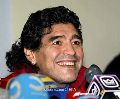 استطلاعات رأي تكشف رفض الأرجنتينيين تولي مارادونا تدريب المنتخب Epa_so12