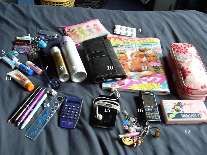 I packed my bags and in I put... Conten10