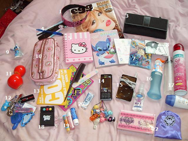 I packed my bags and in I put... Conten11