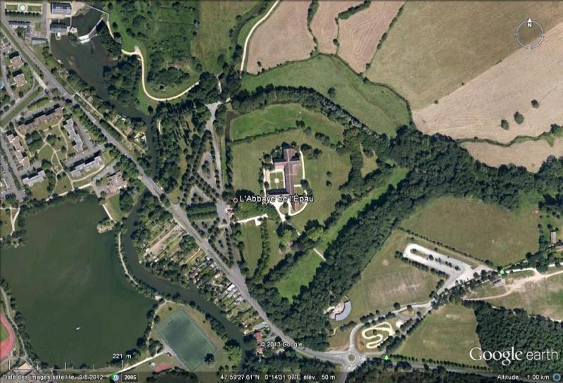 L'abbaye de l'Épau bientôt visible en 3D  Abbaye10