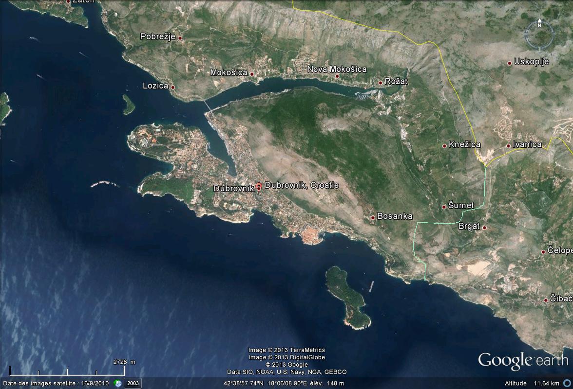 Une journée de trombes marines en Croatie Dubrov10