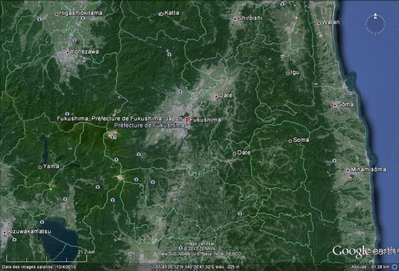 """Le typhon Man-Yi menace Fukushima et place le Japon sous """"alerte spéciale"""" Fukush10"""