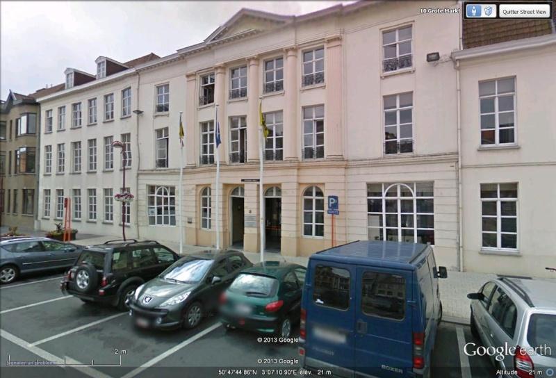 la ville de Menin bannit la langue française Mairie10