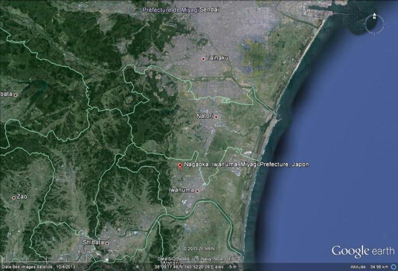 Fukushima : 30 mois après, les nouvelles images de Google Nagaok10