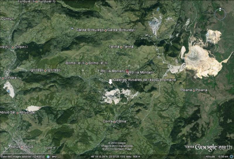 Une rivière peut faire capoter un projet de mine d'or canadien Rosia_10