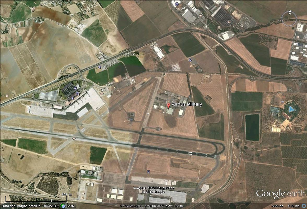 Airbus : l'armée de l'air reçoit son premier A400 M à Séville - Espagne Savill10