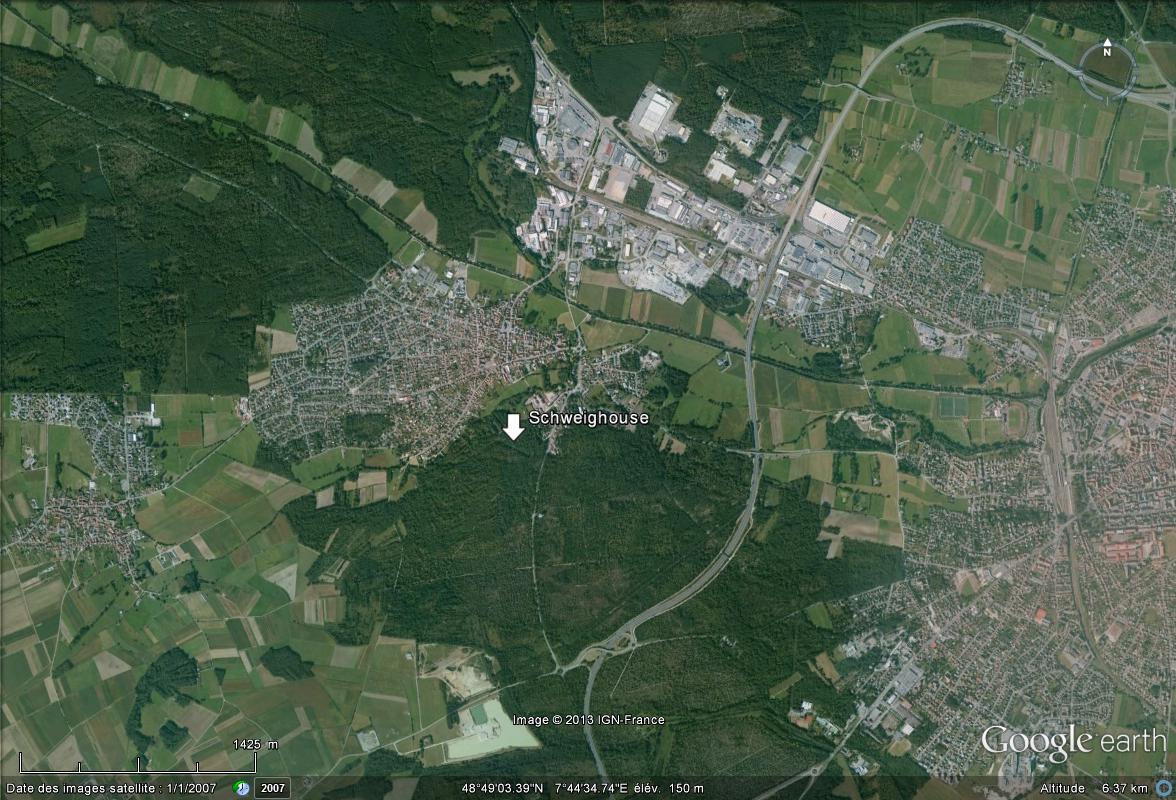 Des vestiges de la Grande Guerre à Schweighouse , Bas-Rhin Schwei10