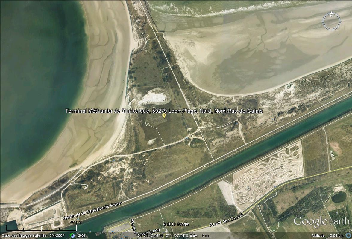 [Enfin visible sur Google Earth] - Futur terminal méthanier de Dunkerque Termin10