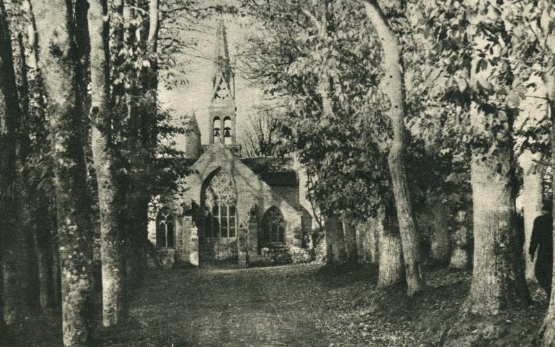 Identification d'une chapelle dans le finitère 3310