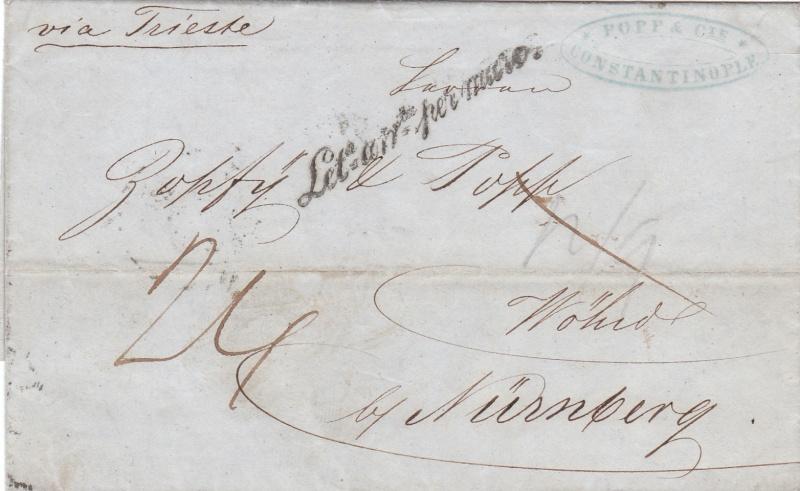 Transitpostverhältnisse Österreichs zu Bayern 1850 - 75 - Seite 2 Img_0010