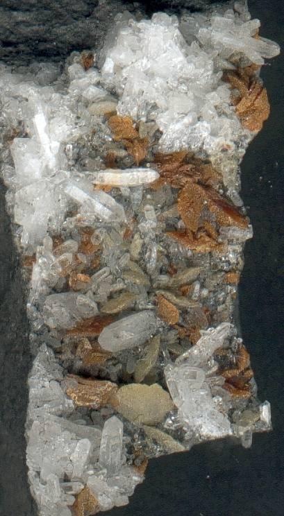 Minéraux des mines de charbon Quartz13