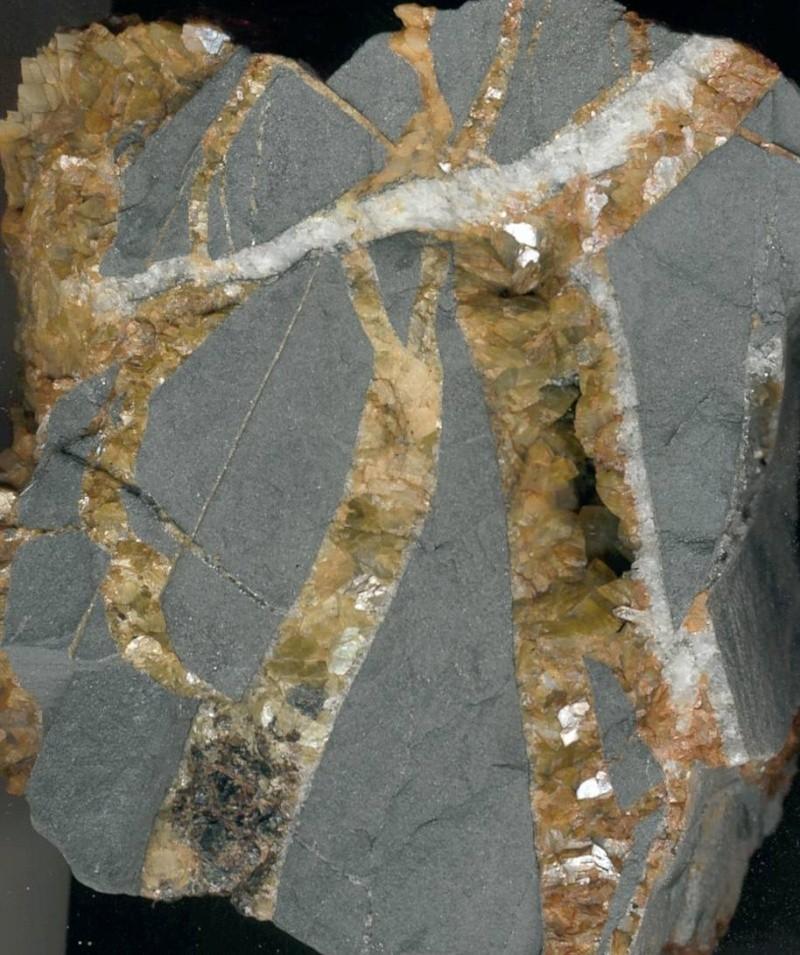 Minéraux des mines de charbon Sideri10