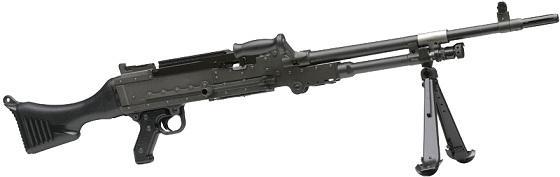 La Mitrailleuse d'Appui Général développée en 1958 (M.A.G 58) de chez FN HERSTAL,remplaçante de la AANF 1,de son vrai nom  AA 52 et pour les anciens la nana. La_mag10