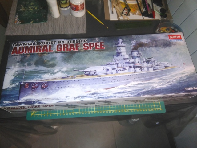 Admiral Graf Spee Academy 1/350 + PE Eduard + canons Master Model  Img_2014