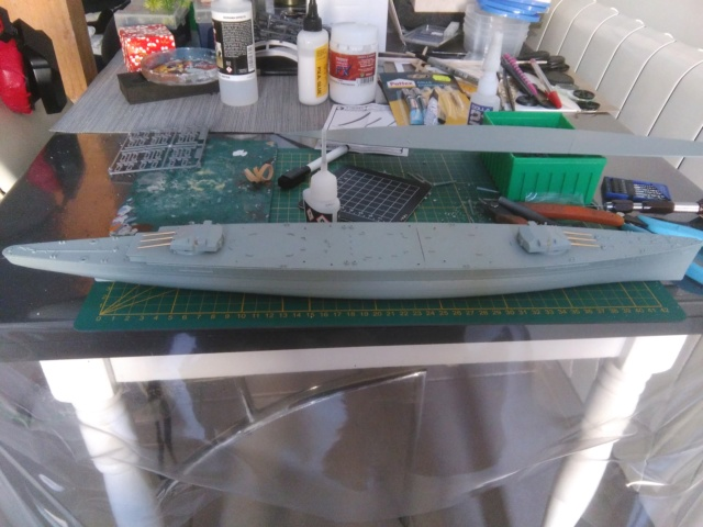 Admiral Graf Spee Academy 1/350 + PE Eduard + canons Master Model  Img_2030
