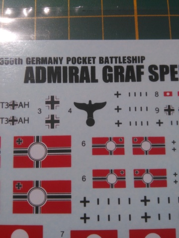 Admiral Graf Spee Academy 1/350 + PE Eduard + canons Master Model  Img_2059
