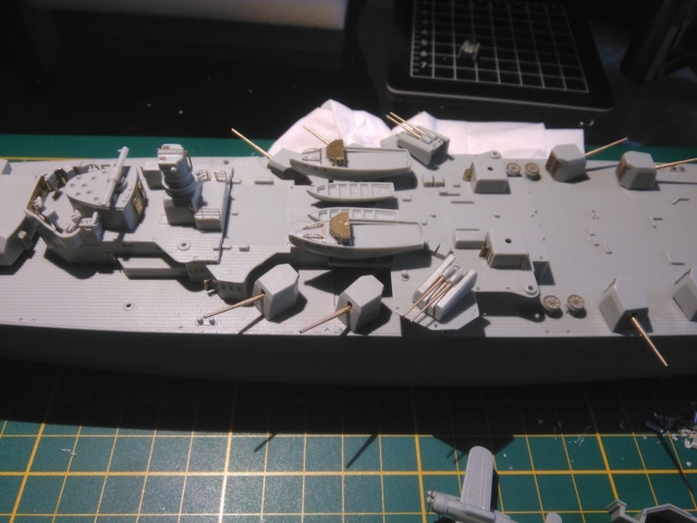 Admiral Graf Spee Academy 1/350 + PE Eduard + canons Master Model  Img_2083
