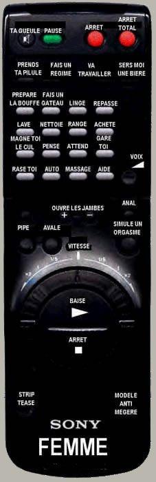 Télécommande pour homme Teleco11