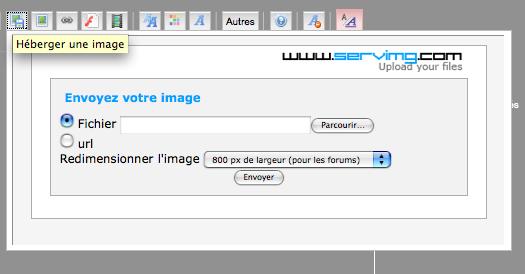 **TUTO** Comment insérer une image ou formater le texte (gras, souligné...) Image_12