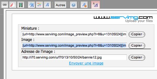 **TUTO** Comment insérer une image ou formater le texte (gras, souligné...) Image_14