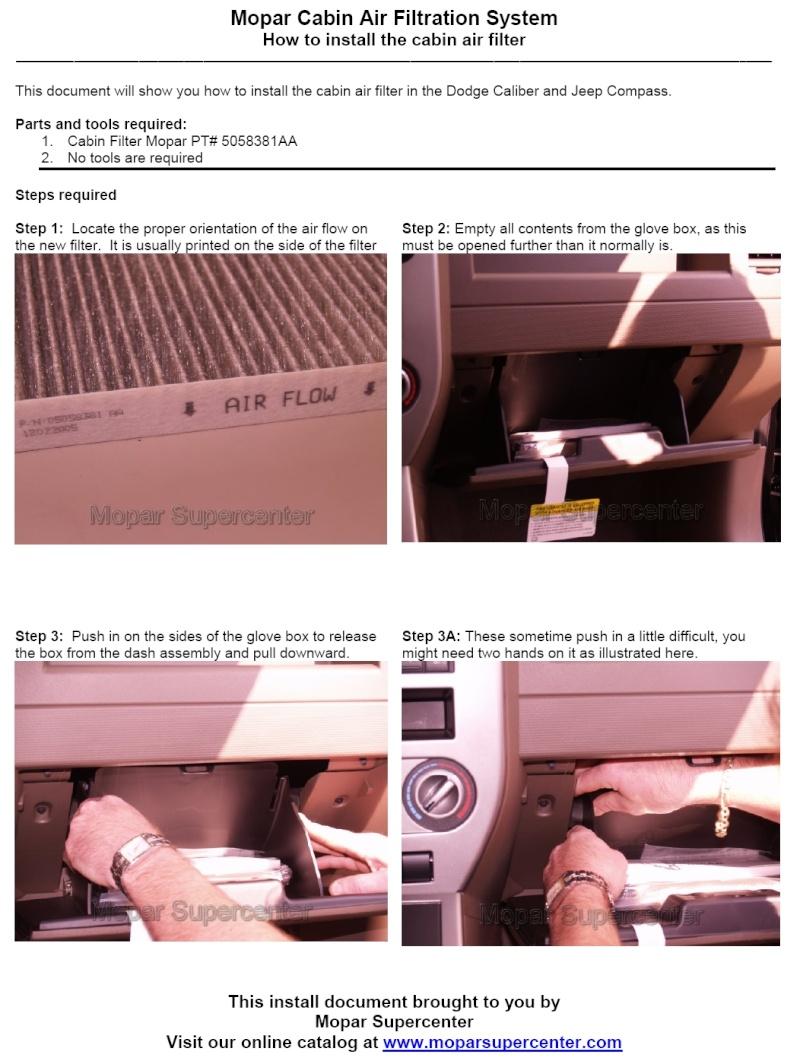 Самостоятельная замена фильтра салона. 112