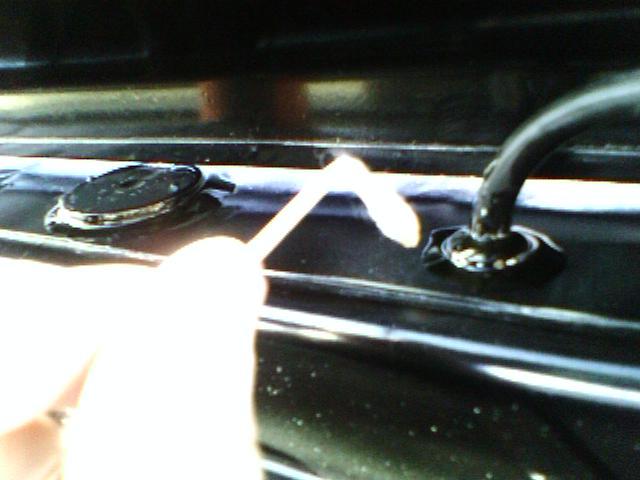 Кузов. Мелиорация плафона багажника. 210