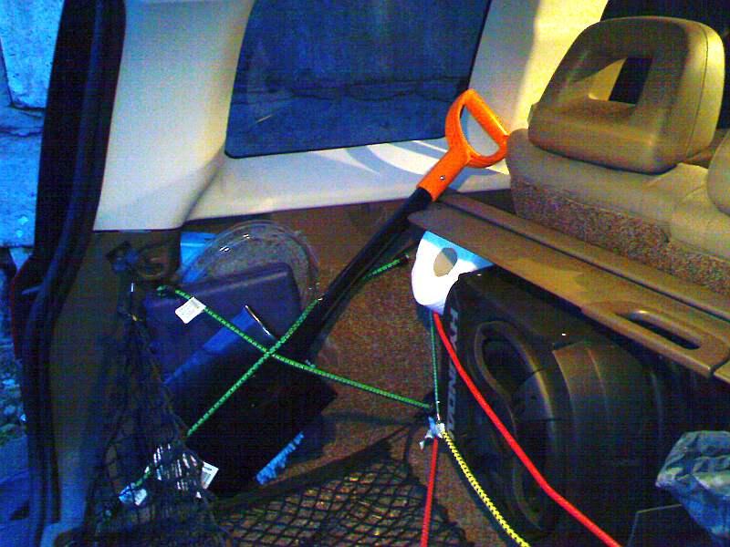 Салон. Багажник. Всевозможные апдейты. L110