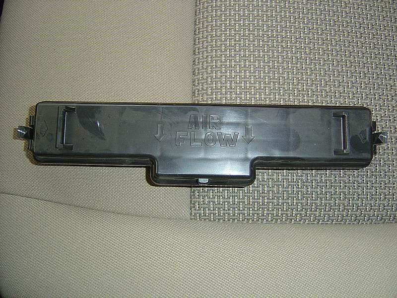 Самостоятельная замена фильтра салона. P810
