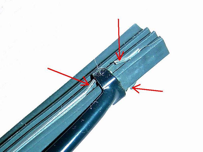 Щетки стеклоочистителя. Замена, ремонт и  апгрейд  штатных. Rear_310