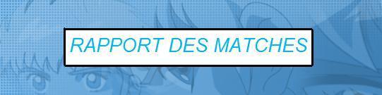 Rapport des Matches Amicaux