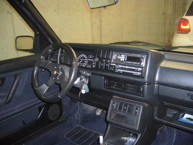 Golf 2 GTI G60 Edition One P1070627
